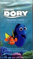 2016 UDC Disney Pixar Finding Dory Non-Sports Cards Pack