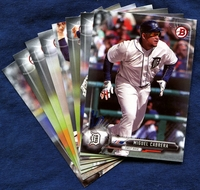 2017 Bowman & Prospects Detroit Tigers Baseball Card Team Set
