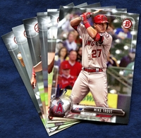 2017 Bowman & Prospects Los Angeles Angels Baseball Card Team Set