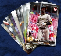 2017 Bowman & Prospects Pittsburgh Pirates Baseball Card Team Set