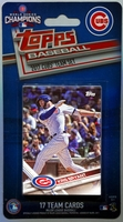 2017 Chicago Cubs Topps MLB Factory Baseball Cards Team Set