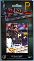2017 Pittsburgh Pirates Topps MLB Factory Baseball Cards Team Set
