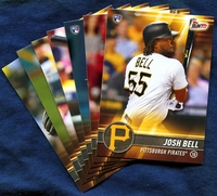 2017 Topps Bunt Pittsburgh Pirates Baseball Card Team Set