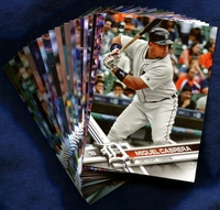 2017 Topps Detroit Tigers Baseball Cards Team Set