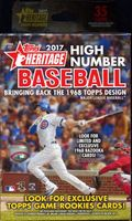 2017 Topps Heritage High Number Baseball Cards Hanger Box
