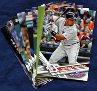 2017 Topps Opening Day Detroit Tigers Baseball Cards Team Set