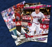 2017 Topps Opening Day Los Angeles Angels of Anaheim Baseball Cards Team Set