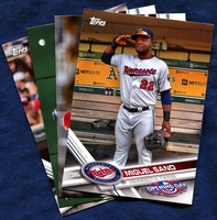 2017 Topps Opening Day Minnesota Twins Baseball Cards Team Set