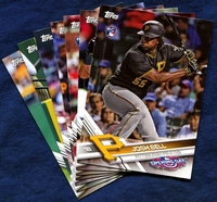 2017 Topps Opening Day Pittsburgh Pirates Baseball Cards Team Set