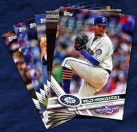 2017 Topps Opening Day Seattle Mariners Baseball Cards Team Set