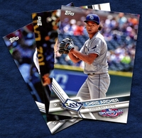 2017 Topps Opening Day Tampa Bay Rays Baseball Cards Team Set