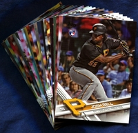 2017 Topps Pittsburgh Pirates Baseball Cards Team Set