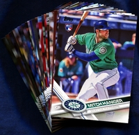 2017 Topps Seattle Mariners Baseball Cards Team Set