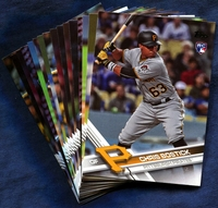 2017 Topps Update Pittsburgh Pirates Baseball Cards Team Set