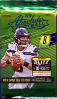 2018 Absolute Football Cards Retail Pack