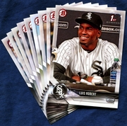 2018 Bowman & Prospects Chicago White Sox Baseball Cards Team Set