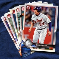 2018 Bowman & Prospects Detroit Tigers Baseball Cards Team Set