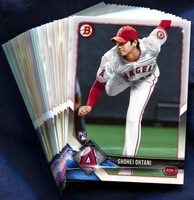 2018 Bowman & Prospects Los Angeles Angels Baseball Cards Team Set