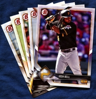 2018 Bowman & Prospects Pittsburgh Pirates Baseball Cards Team Set