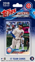 2018 Chicago Cubs Topps MLB Factory Baseball Cards Team Set
