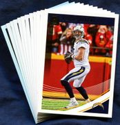 2018 Donruss Los Angeles Chargers NFL Football Card Team Set
