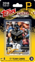 2018 Pittsburgh Pirates Topps MLB Factory Baseball Cards Team Set