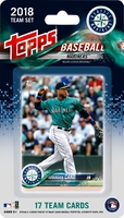 2018 Seattle Mariners Topps MLB Factory Baseball Cards Team Set