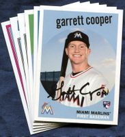 2018 Topps Archives Miami Marlins Baseball Cards Team Set