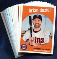 2018 Topps Archives Minnesota Twins Baseball Cards Team Set