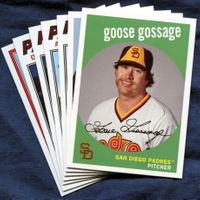 2018 Topps Archives San Diego Padres Baseball Cards Team Set