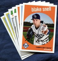 2018 Topps Archives Tampa Bay Rays Baseball Cards Team Set