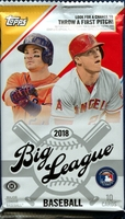 2018 Topps Big League Baseball Cards Hobby Pack