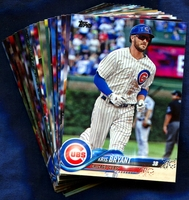 2018 Topps Chicago Cubs Baseball Cards Team Set