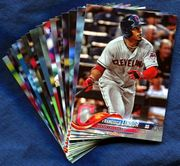 2018 Topps Cleveland Indians Baseball Card Singles