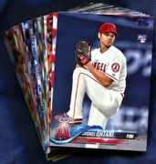 2018 Topps Los Angeles Angels Baseball Cards Team Set