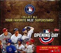 2018 Topps Opening Day Baseball Cards Box