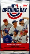 2018 Topps Opening Day Baseball Cards Pack