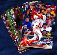 2018 Topps Opening Day Boston Red Sox Baseball Cards Team Set
