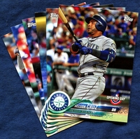 2018 Topps Opening Day Seattle Mariners Baseball Cards Team Set