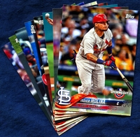2018 Topps Opening Day St. Louis Cardinals Baseball Cards Team Set