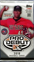2018 Topps Pro Debut Minor League Baseball Cards Hobby Pack