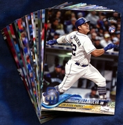 2018 Topps San Diego Padres Baseball Cards Team Set
