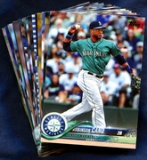 2018 Topps Seattle Mariners Baseball Cards Team Set