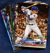 2018 Topps Update Chicago Cubs Baseball Cards Team Set