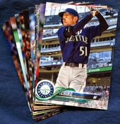 2018 Topps Update Seattle Mariners Baseball Cards Team Set