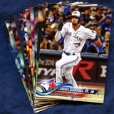 Toronto Blue Jays Baseball Card Team Sets