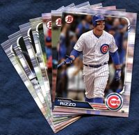 2019 Bowman & Prospects Chicago Cubs Baseball Cards Team Set