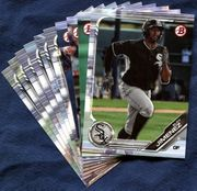 2019 Bowman & Prospects Chicago White Sox Baseball Cards Team Set