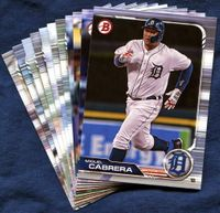 2019 Bowman & Prospects Detroit Tigers Baseball Cards Team Set