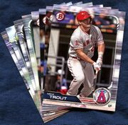 2019 Bowman & Prospects Los Angeles Angels Baseball Cards Team Set